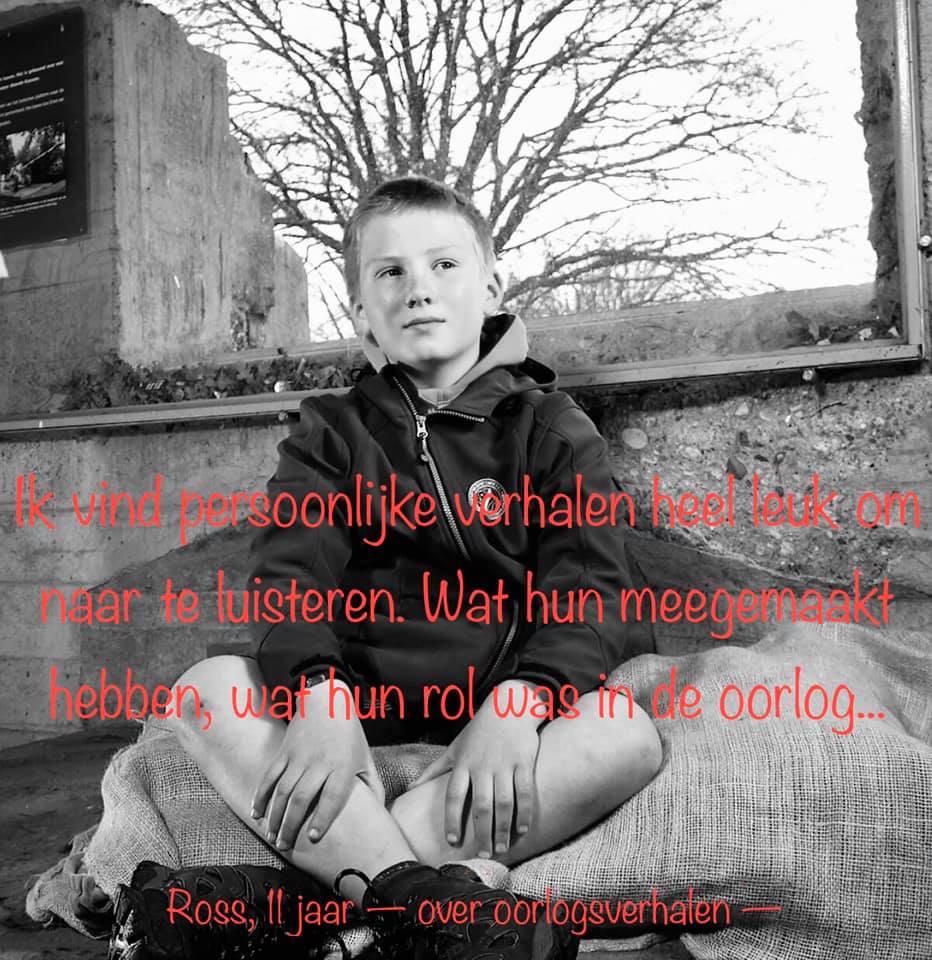 Ross over oorlogsverhalen